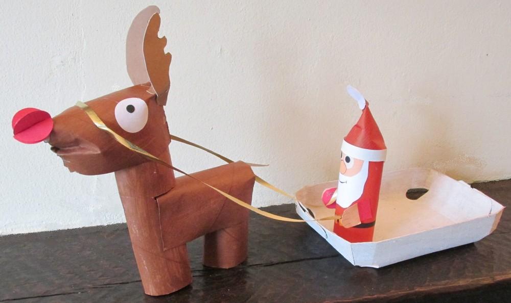 Traîneau Père Noël